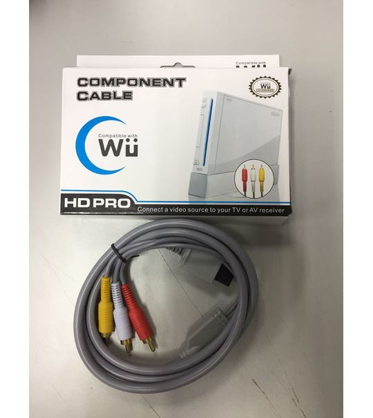 Wii HD Pro Component Cable