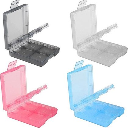 3DS 16IN1 Game Case (Black/White/Red/Blue)