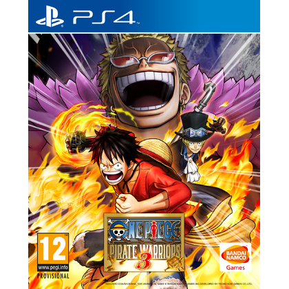 Ps4 One Piece Pirate Warriors 3 -R1/ALL