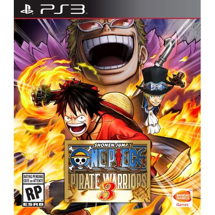 PS3 ONE PIECE PIRATE WARRIORS 3 - R2