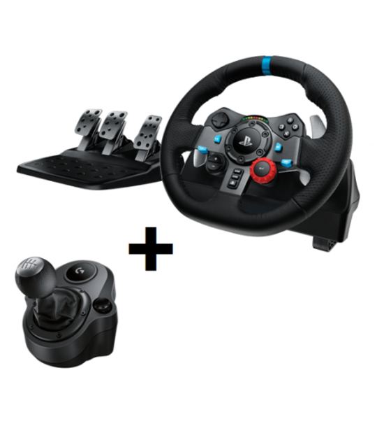 PS4 LOGITECH G29 FORCE RACING WHEEL + G29 SHIFTER