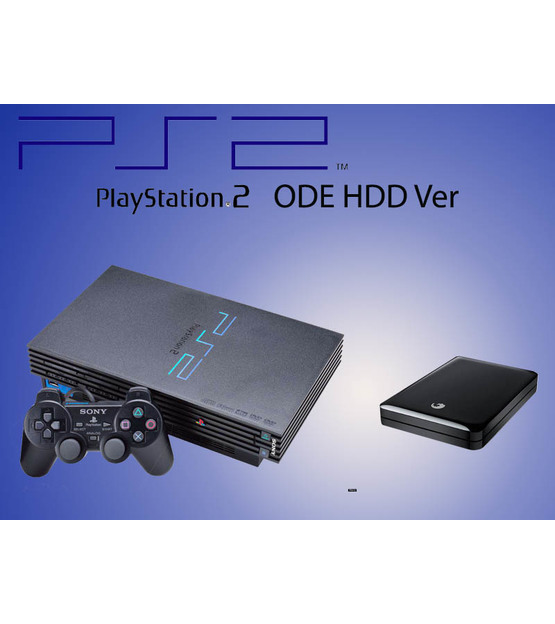 Ps2 ODE + 250Gb External HDD With Full Game