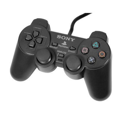 Ps2 Dual Shock Controller OEM Black