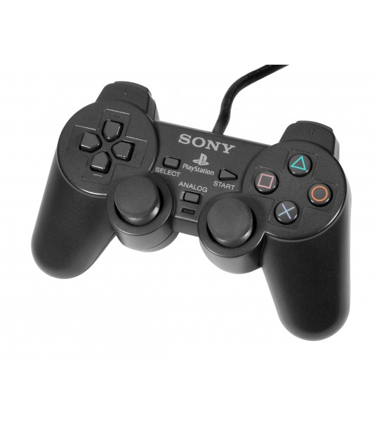 Ps2 Dual Shock Controller OEM Black