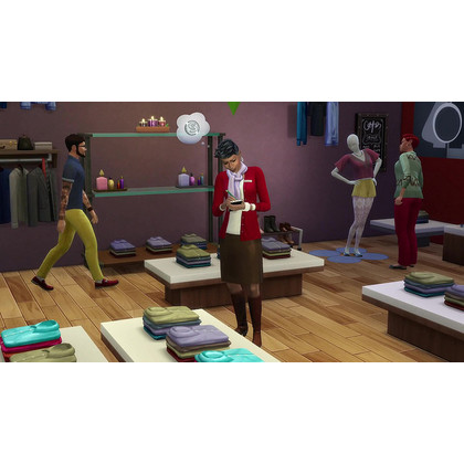 PC THE SIMS 4 GET TO WORK EXPANSION PACK