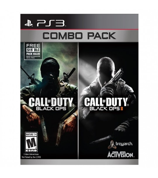Ps3 Call Of Duty Combo(Black Ops 1&2) R1/ALL