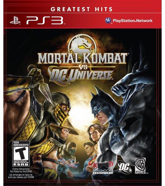 PS3 MORTAL KOMBAT VS DC UNIVERSE R1