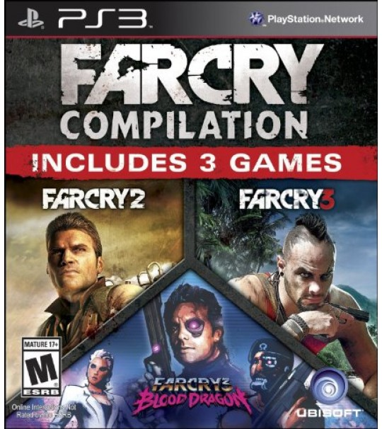 PS3 Far Cry HD Compilation Collection-3in1 R1