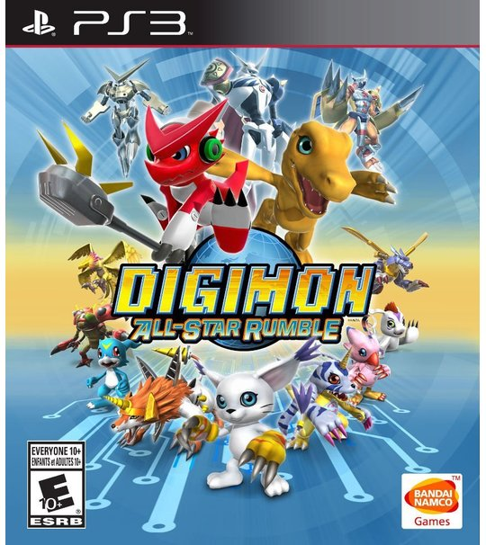 PS3 Digimon All-Star Rumble
