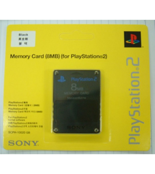 Ps2 8MB Memory Card-New