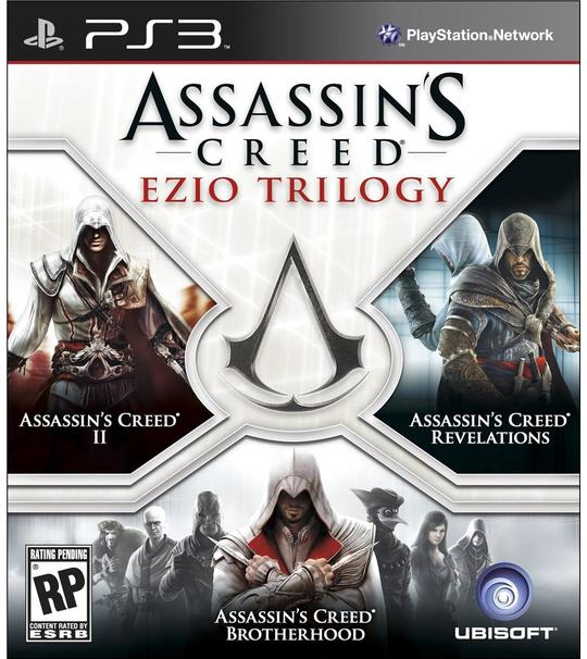 Ps3 Assassin's Creed Ezio Trilogy-3in1 R1
