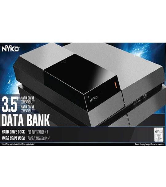 PS4 NYKO MODULAR 3.5 HARD DRIVE DATA BANK