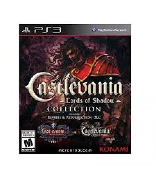 Ps3 Castlevania Lord Of Shadow Collection-3in1