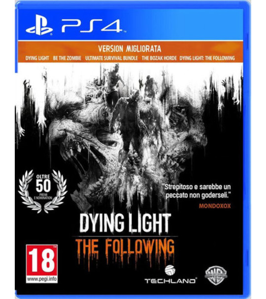 PS4 DYING LIGHT THE FOLLOWING ENHANCE EDITION - ALL