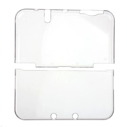 NEW 3DS XL / LL Clear Hard Crystal Case Cover