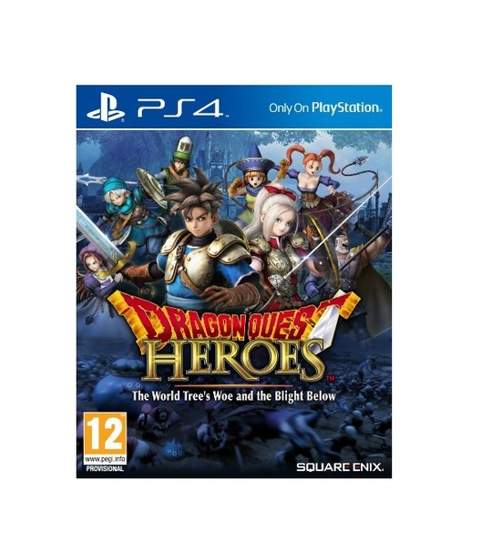 PS4 Dragon Quest Heroes Eng Version-R3