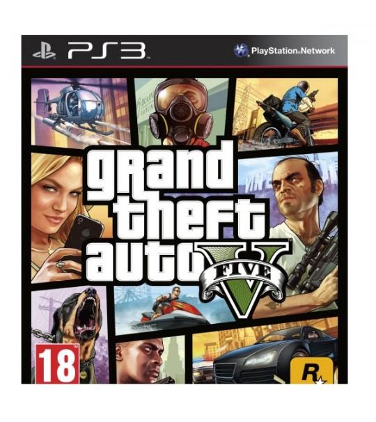 PS3 GRAND THEFT AUTO V - GTA V  R1/ALL