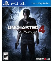 PS4 Uncharted 4: Thief's End English R1