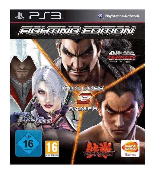 Ps3 Fighting Edition (Tekken Tag Tournamament 2/Soul Calibur V/Tekken 6) R2
