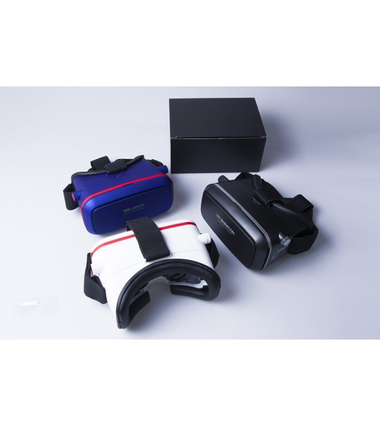 VR SHINECON Virtual Reality Headset 3D VR Box Glasses+Bluetooth Joystick Bundle-Best Deal!