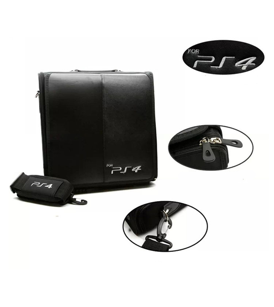 PS4 Leather Bag Black Color