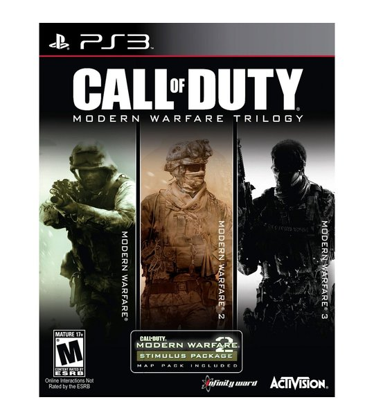 Ps3 Call of Duty Modern Warfare Collection Trilogy R1/ALL