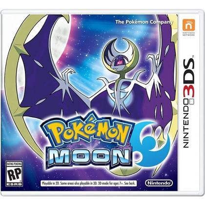 3DS Pokemon Moon English USA