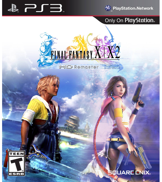Ps3 Final Fantasy X/X-2 Hd Remaster English R1