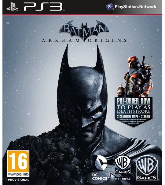 PS3 Batman Arkham Origin R1/ALL