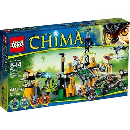 Lego Chima Lavertus Outland Base(Lego 70134)