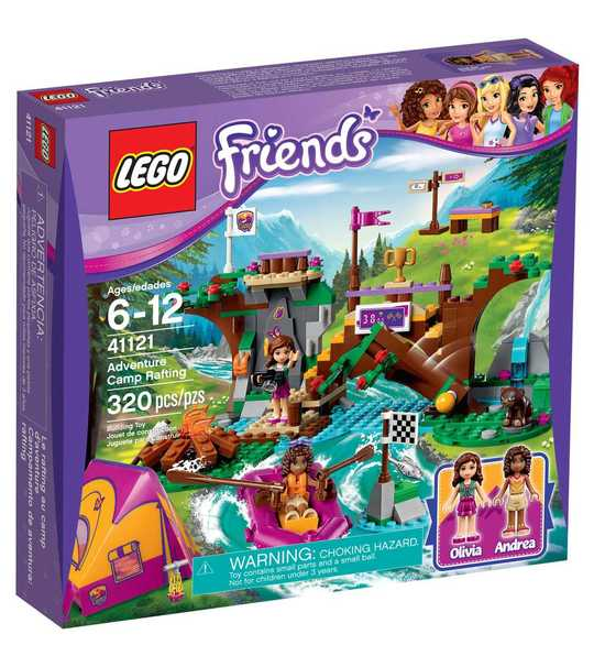Lego Friends : Adventure Camp Rafting (Lego 41121)