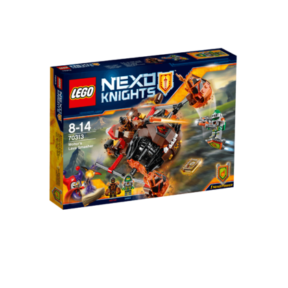 Lego Nexo Knights : Moltor's lava Smasher(Lego 70313)
