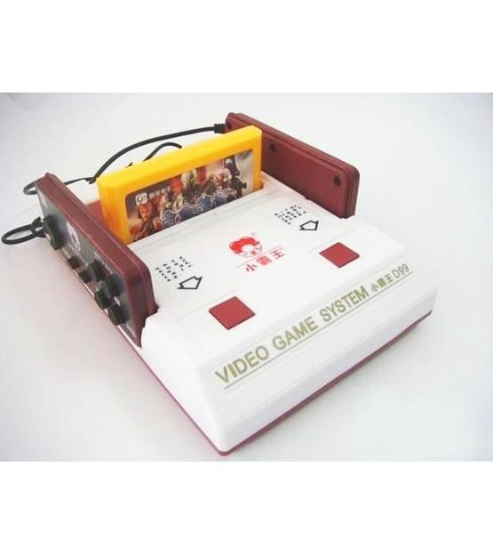 Micro Genius D99 8 Bits Video Game System + 2 Game catridge