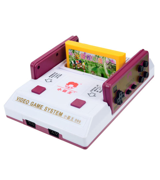 Micro Genius D99 8 Bits Video Game System + 2 Game catridge