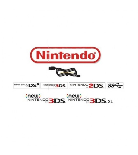 USB Charge Charging Cable Cord Lead For Nintendo 3DS/Dsi/Dsi LL XL Consoles