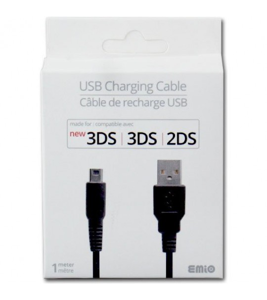 EMIO Original USB Charge Charging Cable Cord Lead For Nintendo 3DS/Dsi/Dsi LL XL Consoles