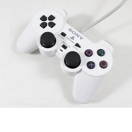 Ps2 Dual Shock Controller OEM White