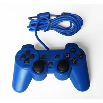 Ps2 Dual Shock Controller OEM Blue Color
