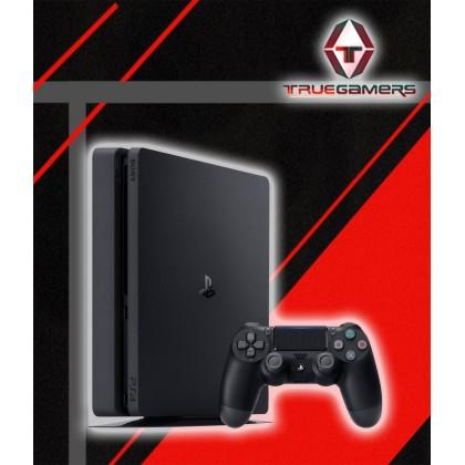 PS4 SLIM 500GB CORE SET + FREE VERTICAL STAND + FREE 1 RANDOM GAMES - EXPORT SET
