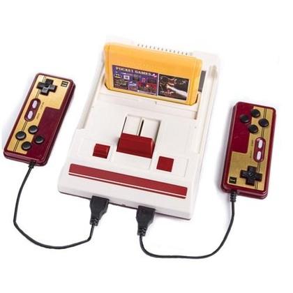 FC Compact Vintage Micro Genius 30 Year Anniversary + 132 in 1 Multi Games(non repeat)