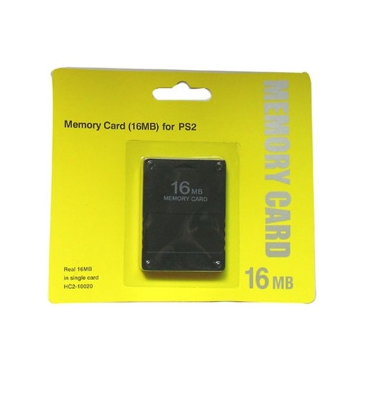 Ps2 16MB Memory Card-New