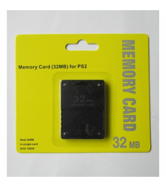 Ps2 32MB Memory Card-New