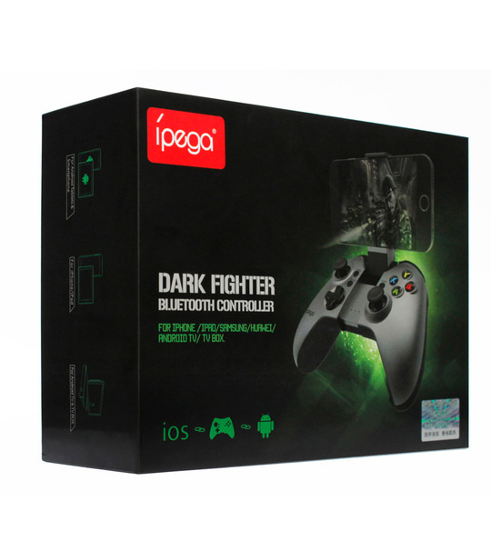IPEGA 9062 Dark Fighter Wireless Bluetooth Controller Joystick for Android/IOS/PC Mobile Phone