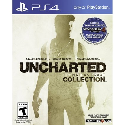 PS4 UNCHARTED THE NATHAN DRAKE COLLECTION ALL