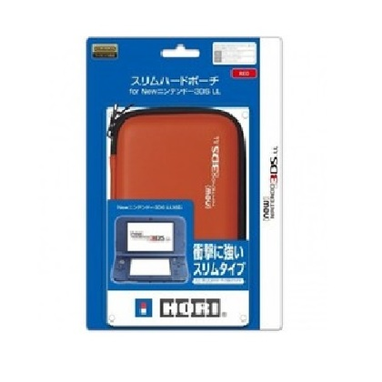 NINTENDO NEW 3DS LL/XL AIRFOAM POUCH - RED