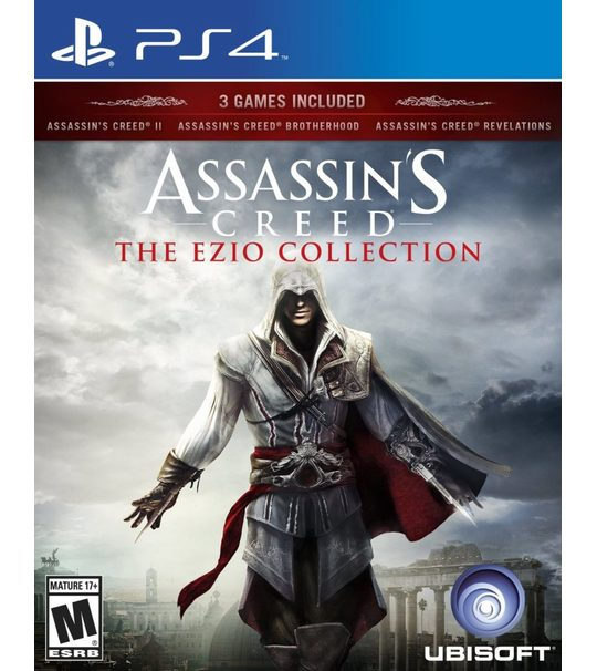 Ps4 Assassin's Creed Ezio Collection-3in1 R3