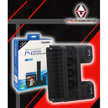 PS4 SLIM / PRO DOBE MULTIFUNCTIONAL COOLING STAND TP4-882