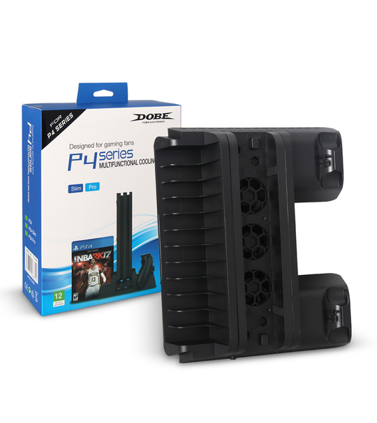 Ps4 DOBE Mufti-function cooling dock TP4-882 For Ps4/Ps4 slim/Ps4 Pro