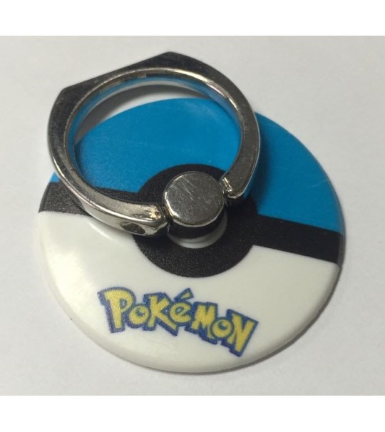 Pokemon Pokeball Rotating Ring Stand Holder - BLUE