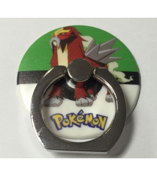 Pokemon Rotating Ring Stand Holder - ENTEI